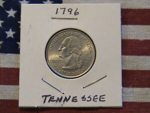 2002 D TENNESSEE STATE QUARTER DOLLAR CU/NI CLAD 17 YEARS OLD  NICE COIN  GEM BU