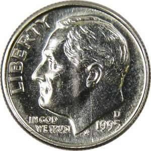 1995 D 10C ROOSEVELT DIME US COIN UNCIRCULATED MINT STATE