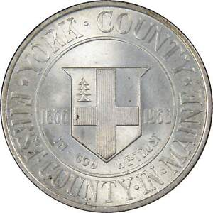 1936 50C YORK COUNTY MAINE SILVER HALF DOLLAR US COIN CHOICE UNCIRCULATED