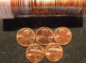 1989 P LINCOLN CENT PENNY CHOICE/GEM BU ROLL UNCIRCULATED