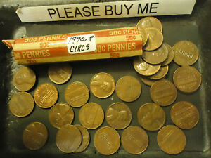 1970 P LINCOLN CENT ROLL              >> C/S & H <<