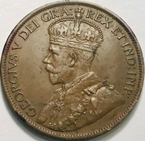 CANADA   GEORGE V   LARGE CENT   1912   KM 21   EXTRA FINE