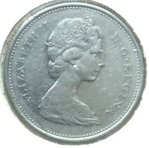 CANADA 1969 25 CENTS CANADIAN CARIBOU QUARTER COIN NICE