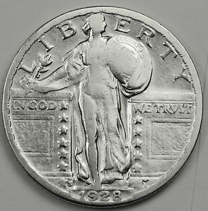 1928 S STANDING LIBERTY QUARTER.  HIGH GRADE.  87074    INV.A