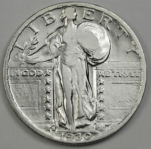 1930 S STANDING LIBERTY QUARTER.  HIGH GRADE. INV.A