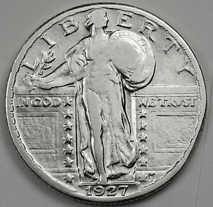 1927 P STANDING LIBERTY QUARTER.  HIGH GRADE.  87051    INV.A