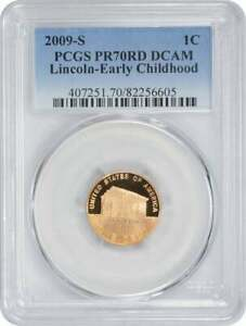 Click now to see the BUY IT NOW Price! 2009 S LINCOLN CENT PR70RD DCAM EARLY CHILDHOOD PCGS