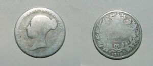 QUEEN VICTORIA SILVER SIXPENCE 1845