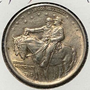 1925 50C STONE MOUNTAIN SILVER COMMEMORATIVE  51290