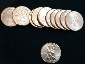 U.S. 2019 P LINCOLN SHIELD PENNY   UNCIRCULATED ONE CENT COIN BU