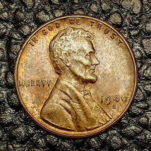 ITM 1592  1940 S LINCOLN CENT   MINT CNDTN   $20 ORDERS SHIP FREE