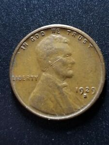 1929 S LINCOLN WHEAT CENT NICE EARLY DATE