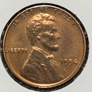 1954 1C LINCOLN CENT PROOF  51728