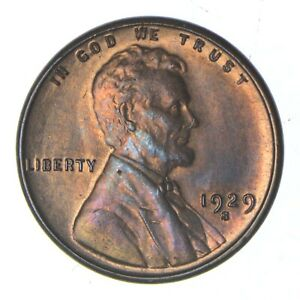 1929 S LINCOLN WHEAT CENT   UNCIRCULATED  0166