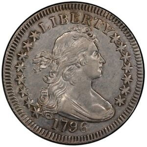 Click now to see the BUY IT NOW Price! 1796 25C DRAPED BUST QUARTER PCGS AU53
