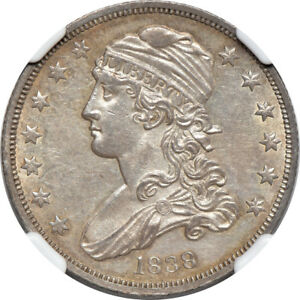 Click now to see the BUY IT NOW Price! 1838 CAPPED BUST QUARTER MS / MINT STATE 61 NGC 25C C00038911