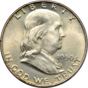 Click now to see the BUY IT NOW Price! 1950 D FRANKLIN HALF DOLLAR MS 66 FBL PCGS 50C C00046594
