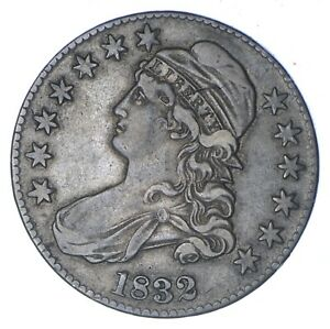 1832 CAPPED BUST HALF DOLLAR   CIRCULATED  0358