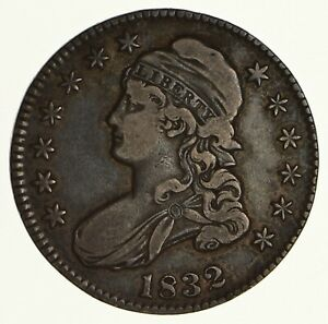 1832 CAPPED BUST HALF DOLLAR   CIRCULATED  6183
