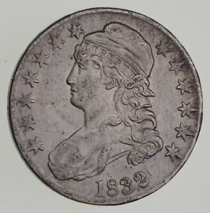 1832 CAPPED BUST HALF DOLLAR   NEAR UNCIRCULATED  7189