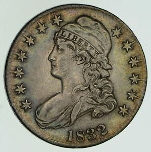 1832 CAPPED BUST HALF DOLLAR   CIRCULATED  4604