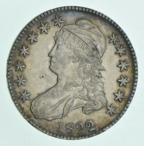 1822 CAPPED BUST HALF DOLLAR  6116