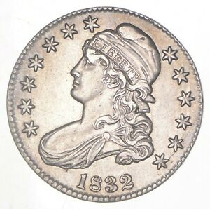 1832 CAPPED BUST HALF DOLLAR  6287