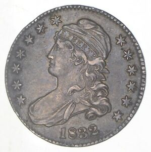 1832 CAPPED BUST HALF DOLLAR  6298