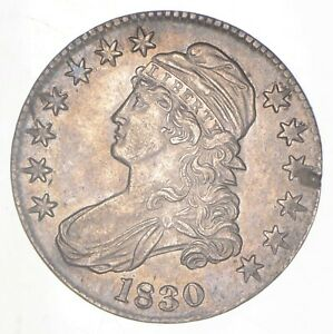 1830 CAPPED BUST HALF DOLLAR  6289