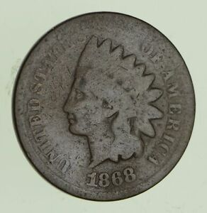 1868 INDIAN HEAD CENT   CIRCULATED  1106