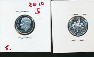 ROOSEVELT SILVER DIME   2010 S CAMEO GEM PROOF   BETTER DATE
