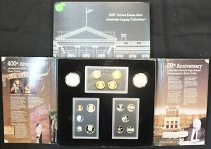 Click now to see the BUY IT NOW Price! 2007 UNITED STATES MINT AMERICAN LEGACY COLLECTION PROOF 16 COIN SET & COA LF367