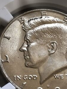 Click now to see the BUY IT NOW Price! 1991 P KENNEDY HALF DOLLAR ERROR COIN CRAZY OBVERSE DOUBLING NGC CERT MS65