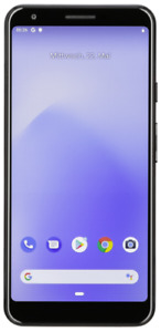 GOOGLE PIXEL 3A XL JUST BLACK NEU
