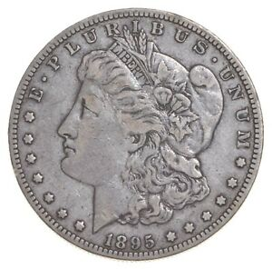 1895 O MORGAN SILVER DOLLAR  5504