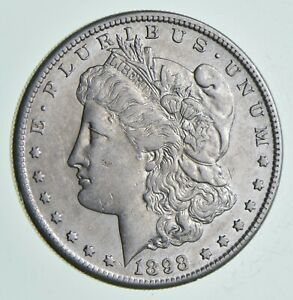 1898 S MORGAN SILVER DOLLAR  6909