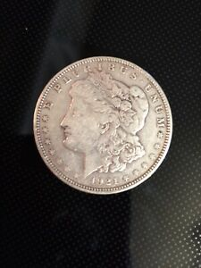 1921 D MORGAN SILVER DOLLAR US COIN