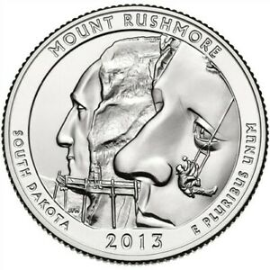Click now to see the BUY IT NOW Price! 2013 MOUNT RUSHMORE QUARTER   PERFECT CONDITION