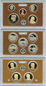 2014 UNITED STATES PROOF SET   14 COIN COLLECTION   US MINT OGP