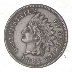 1885 INDIAN HEAD CENT  7011