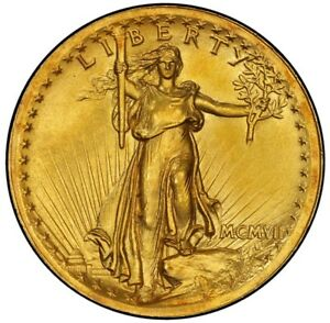 Click now to see the BUY IT NOW Price! 1907 $20 HIGH RELIEF WIRE EDGE SAINT GAUDENS PCGS MS66  CAC