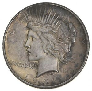 1921 PEACE SILVER DOLLAR   KEY DATE   HIGH RELIEF  7945