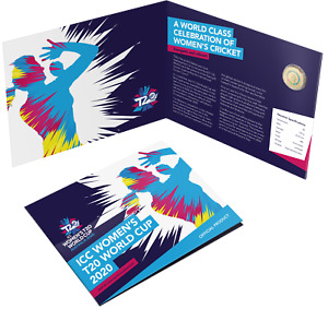 2019 ICC WOMEN'S T20 WORLD CUP CRICKET $2 COIN RAM CARD