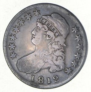 1812 CAPPED BUST HALF DOLLAR   O 103  2668