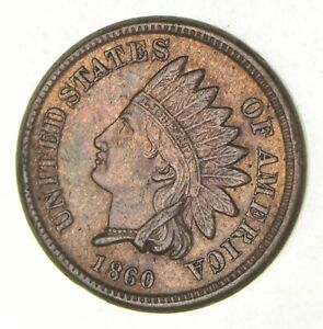 1860 INDIAN HEAD CENT  2838