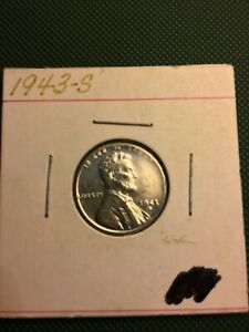 1943 S STEEL LINCOLN WHEAT PENNY