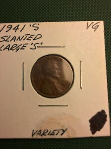 1941 S LINCOLN WHEAT PENNY