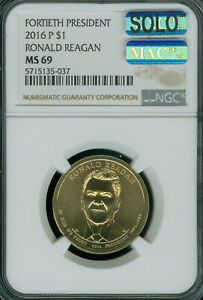 Click now to see the BUY IT NOW Price! 2016 P RONALD REAGAN PRES. DOLLAR NGC MS69 PQ SOLO FINEST REGISTRY MAC SPOTLESS