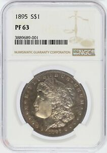 Click now to see the BUY IT NOW Price! 1895 MORGAN SILVER DOLLAR PROOF NGC PF63 COIN PHILADELPHIA MINT   JJ052