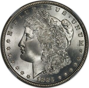 Click now to see the BUY IT NOW Price! 1885 MORGAN DOLLAR S$1 NGC MS68